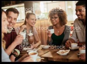 Coffee time stock